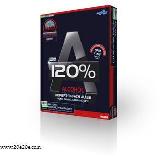 یکی از بهترین نرم افزار های رایت Alcohol 120% + (ک.ر.ک - c.r.a.c.k)