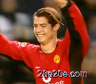 Cristiano Ronaldo in Manchester United 22